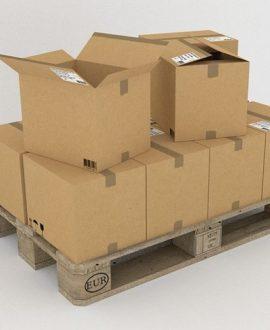 Almacenaje con Cajas de Cartón y/o Plástico